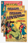 Golden Age (1938-1955):Science Fiction, Strange Adventures #17, 19, and 20 Group (DC, 1952).... (Total: 3Comic Books)