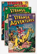 Golden Age (1938-1955):Science Fiction, Strange Adventures Group (DC, 1951-52).... (Total: 5 Comic Books)