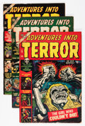 Golden Age (1938-1955):Horror, Adventures Into Terror Group (Atlas, 1953-54) Condition: Average VGexcept as noted.... (Total: 12 Comic Books)