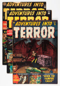 Golden Age (1938-1955):Horror, Adventures Into Terror Group (Atlas, 1952-53).... (Total: 10 ComicBooks)