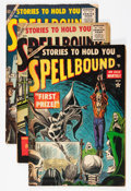 Golden Age (1938-1955):Horror, Spellbound #23-27 and 29 Group (Atlas, 1954-56).... (Total: 6 ComicBooks)