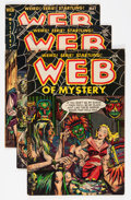 Golden Age (1938-1955):Horror, Web of Mystery #18-22 Group (Ace, 1953-54).... (Total: 5 ComicBooks)