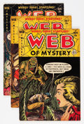 Golden Age (1938-1955):Horror, Web of Mystery Group (Ace, 1952-53).... (Total: 6 Comic Books)