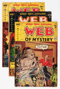 Golden Age (1938-1955):Horror, Web of Mystery #7-10 Group (Ace, 1952).... (Total: 4 Comic Books)