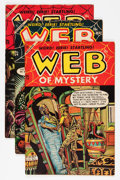 Golden Age (1938-1955):Horror, Web of Mystery #23-27 Group (Ace, 1954).... (Total: 5 Comic Books)