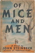 Books:Literature 1900-up, John Steinbeck. Of Mice and Men. New York: Covici-Friede,[1937]. First edition, first issue, with the correct i...