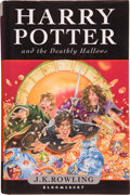 Books:Children's Books, J. K. Rowling. Harry Potter and the Deathly Hallows. [London]: Bloomsbury, [2007]. First edition. Inscribed by... (Total: 9 Items)