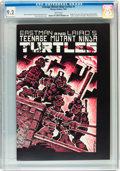 Modern Age (1980-Present):Alternative/Underground, Teenage Mutant Ninja Turtles #1 (Mirage Studios, 1984) CGC NM- 9.2 White pages....