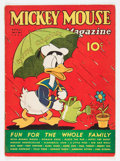 Platinum Age (1897-1937):Miscellaneous, Mickey Mouse Magazine V2#7 (K. K. Publications/ Western PublishingCo., 1937) Condition: VG+....