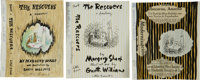 Garth Williams. Three Original Pen and Ink Preliminary Drawings for the Jacket Design for The Rescue