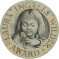 Books:Original Art, Garth Williams (American 1912-1996). Original Drawing for the LauraIngalls Wilder Award. [N.p., n.d., ca. 1960]....