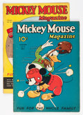 Platinum Age (1897-1937):Miscellaneous, Mickey Mouse Magazine V2#2 and V2#5 Group (K. K. Publications/Western Publishing Co., 1936) Condition: Average Apparent GD/VG...(Total: 2 Comic Books)