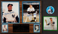 Baseball Collectibles:Photos, Mickey Mantle Signed Photographs and More Collection....