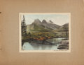 Books:Photography, Two Hand-Colored Photo Albums, including: Scenes through the Canadian Rockies. [and:] The Grand Canyon of Ar...