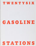 Books:Fiction, Edward Ruscha. Twentysix Gasoline Stations. [Alhambra:Cunningham Press], 1969. Third edition, one of 3,000 unnumber...