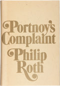 Books:Signed Editions, Philip Roth. Portnoy's Complaint. New York: Random House,[1969]. First edition, number 179 of 600 numbered co...