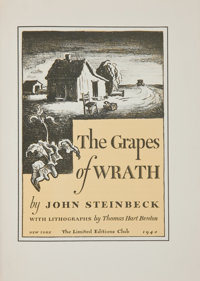 [Thomas Hart Benton, illustrator]. John Steinbeck. The Grapes of Wrath. New York: The Limited E