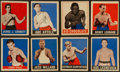 Boxing Cards:General, 1948 Leaf Boxing Collection (28). ...