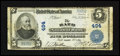 National Bank Notes:Maine, Bath, ME - $5 1902 Plain Back Fr. 598 The Bath NB Ch. # 494. ...
