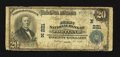 National Bank Notes:Maine, Portland, ME - $20 1902 Plain Back Fr. 650 The First NB Ch. #(N)221. ...