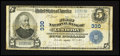 National Bank Notes:Maine, Lewiston, ME - $5 1902 Plain Back Fr. 598 The First NB Ch. # 330....