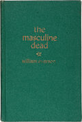 Books:Literature 1900-up, William Everson. The Masculine Dead. Poems, 1938-1940.Prairie City [Illinois]: The Press of James A. Decker, 19...
