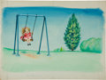 Art:Illustration Art - Mainstream, Garth Williams. Original Large Watercolor Painting of UnusedIllustration for Baby's First Book, 1955, featuring...