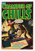 Golden Age (1938-1955):Horror, Chamber of Chills #5 (Harvey, 1952) Condition: FN....