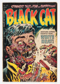 Golden Age (1938-1955):Horror, Black Cat Mystery #50 (Harvey, 1954) Condition: VG+....