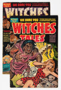 Golden Age (1938-1955):Horror, Witches Tales #14 and 15 Group (Harvey, 1952).... (Total: 2 ComicBooks)