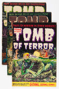 Golden Age (1938-1955):Horror, Tomb of Terror Group (Harvey, 1952-54) Condition: Average VG....(Total: 4 Comic Books)