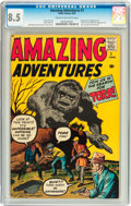 Silver Age (1956-1969):Horror, Amazing Adventures #1 (Marvel, 1961) CGC VF+ 8.5 Cream to off-whitepages....