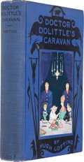 Books:Children's Books, Hugh Lofting. Doctor Dolittle's Caravan. New York: FrederickA. Stokes, [1926]. First edition. With a December...