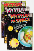Silver Age (1956-1969):Science Fiction, Mystery in Space Group (DC, 1957-59) Condition: Average FN+.... (Total: 8 Comic Books)