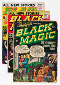 Golden Age (1938-1955):Horror, Black Magic Group (Prize, 1951-61) Condition: Average FN-....(Total: 6 Comic Books)