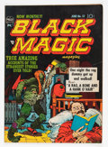 Golden Age (1938-1955):Horror, Black Magic #13 (Prize, 1952) Condition: FN....