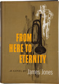 Books:Fiction, James Jones. From Here to Eternity. New York: Scribners,1951. First edition, first printing. Signed by Jones on...