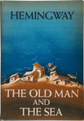 Books:Fiction, Ernest Hemingway. The Old Man and the Sea. New York:Scribner's, 1952. First edition. Octavo. 140 pages. Publish...