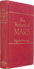 Books:Science Fiction & Fantasy, Edgar Rice Burroughs. The Warlord of Mars. Chicago: McClurg,1919. First edition, first printing. Octavo. 296 pages....