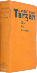 Books:Science Fiction & Fantasy, Edgar Rice Burroughs. Jungle Tales of Tarzan. Chicago:McClurg, 1919. First edition, first printing. Octavo. 319 pag...