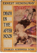 Books:Literature 1900-up, Ernest Hemingway. Death in the Afternoon. New York:Scribner's, 1932. First edition. ...