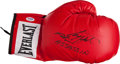 """Boxing Collectibles:Autographs, Larry Holmes """"Assassin"""" Signed Boxing Glove. ..."""