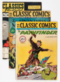 Golden Age (1938-1955):Classics Illustrated, Classic Comics/Classics Illustrated First Editions Group (Gilberton, 1944-48) Condition: Average VG.... (Total: 8 Comic Books)