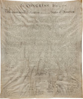 Featured item image of Declaration of Independence, Engraved and Printed by William Stone....