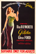 "Movie Posters:Film Noir, Gilda (Columbia, 1946). Australian One Sheet (27"" X 40"").. ..."