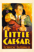 "Movie Posters:Crime, Little Caesar (Warner Brothers - First National, 1931). One Sheet (27"" X 41"") Style B.. ..."