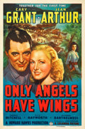 "Movie Posters:Drama, Only Angels Have Wings (Columbia, 1939). One Sheet (27"" X 41"")Style A.. ..."