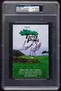 Miscellaneous Collectibles:General, Samuel L. Jackson Signed Golf Scorecard....