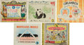 Books:Children's Books, Nine Puffin Books, Including Eight First Editions. All bookspublished in London by Penguin Books, Limited, and all are oblo...(Total: 9 Items)