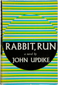 Books:Fiction, John Updike. Rabbit, Run. New York: Knopf, 1960. Firstedition, first printing. Octavo. 307 pages. Publisher's quart...
